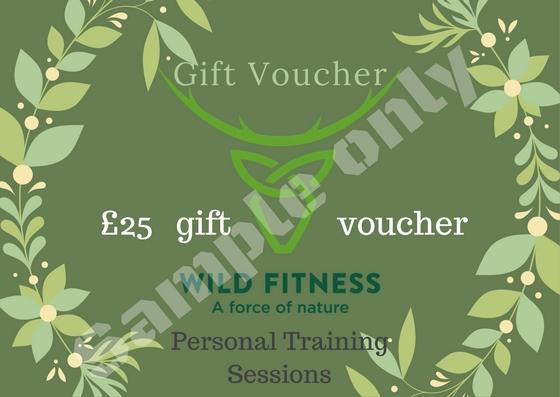 Wild Fitness Gift Voucher